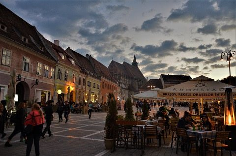 Brasov - town council square