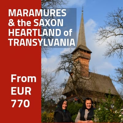Join our time-travel machine to discover the life in MARAMURES and the treasures of the SAXON HEARTLAND of Transylvania - 7-day guided tour
