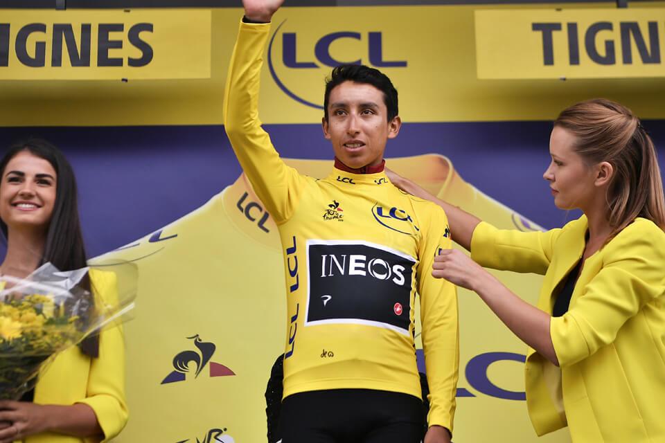 Egan Bernal Tour de France winner