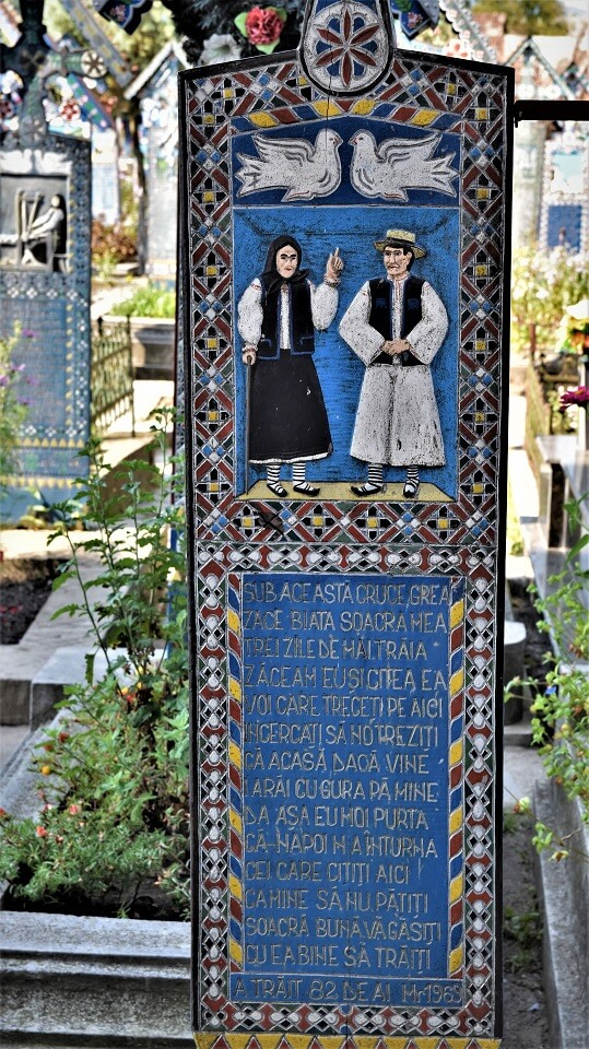 Merry Cemetery Sapanta Maramures funny epitaph