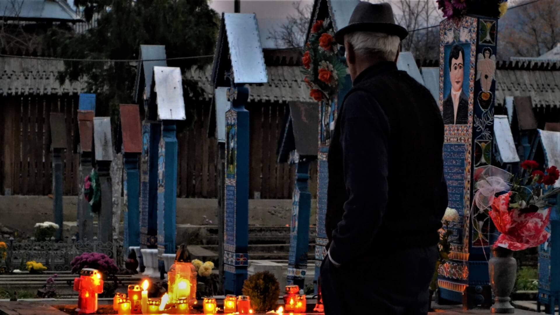 All Saints Day Transylvania Merry Cemetery Sapanta Maramuresry