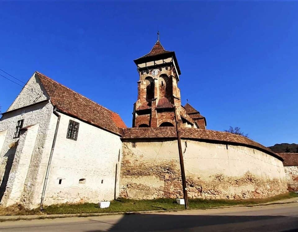 Valea Viilor UNESCO fortified church Transylvania Romania