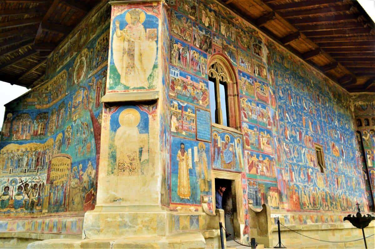 Voronet monastery Stephen the Great