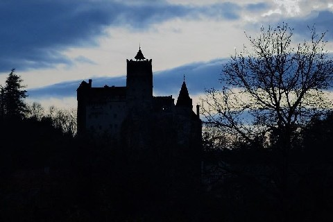 Bran Castle dracula transylvania night