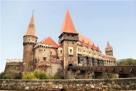 Corvin castle transylvania