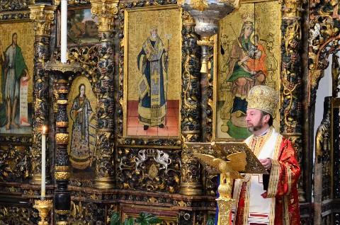 blaj iconostas religion romania