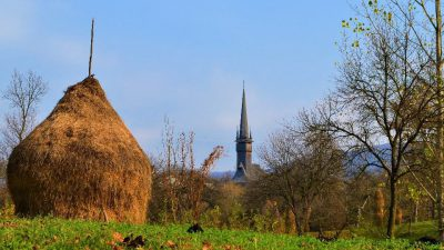 wooden church maramures surdesti