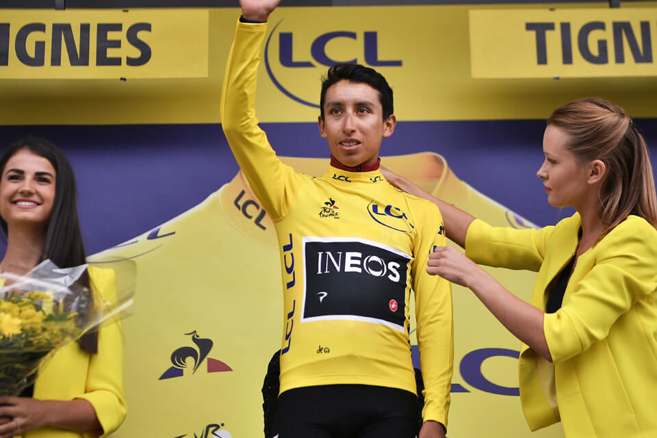 Egan Bernal Tour de France winner