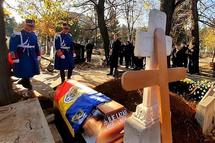Ilie Lazar funeral