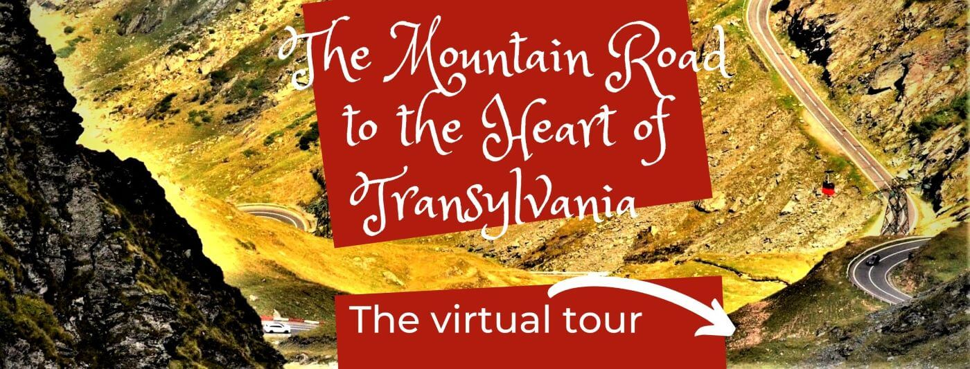 Transfagarasan mountain road Transylvania Romania
