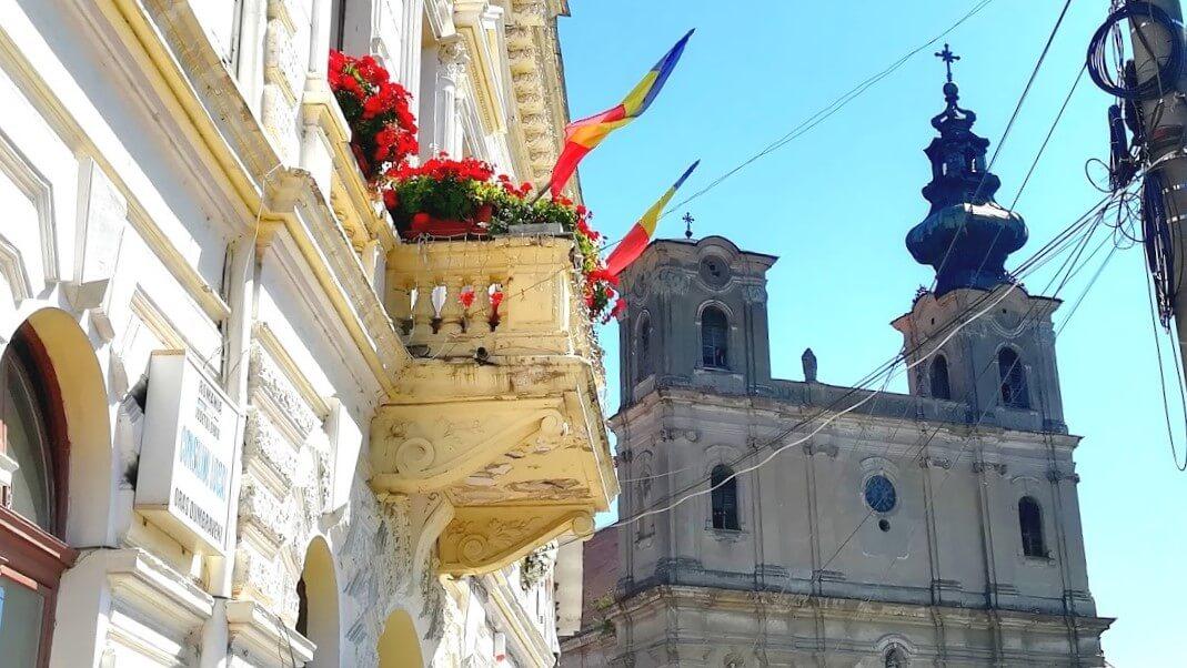 Dumbraveni Armenian church Via Transilvanica