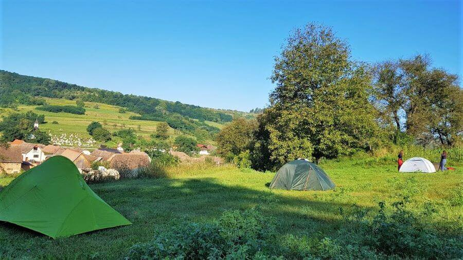 Via Transilvanica camping Malancrav