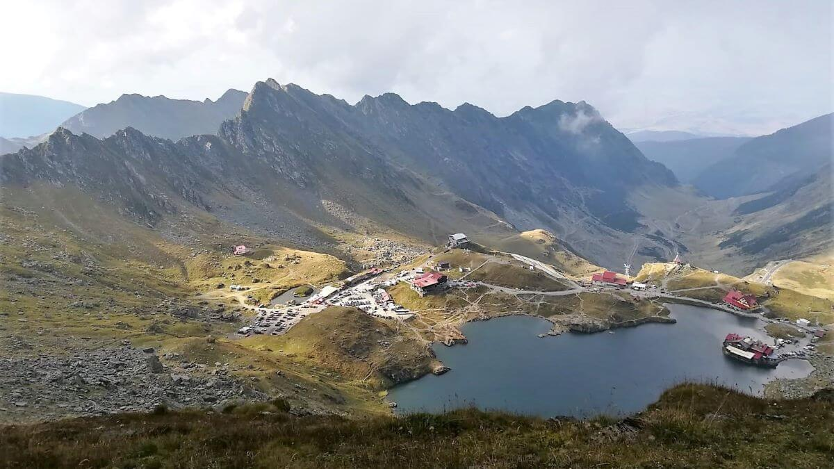 Fagaras Mountains Balea Lake Transfagarasan