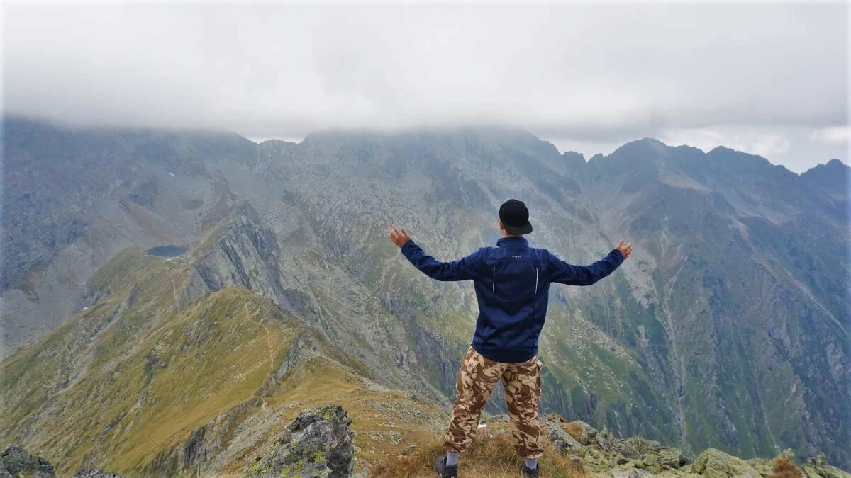 Fagaras mountains carpathians Negoiu Caltun