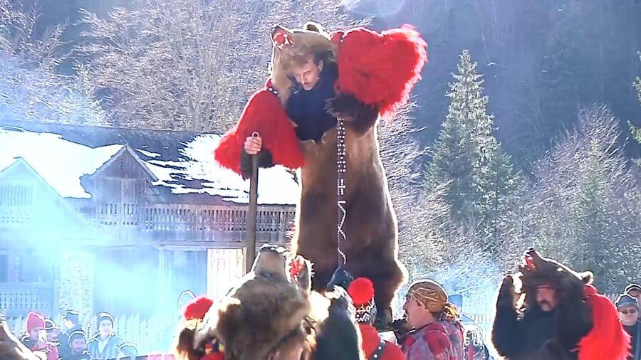 Bear Dance traditions romania moldova comanesti asau